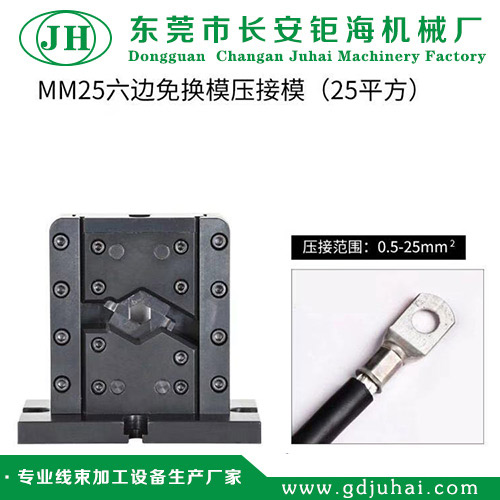 MM25六边免换模压接模