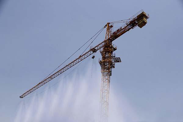塔吊喷雾系统