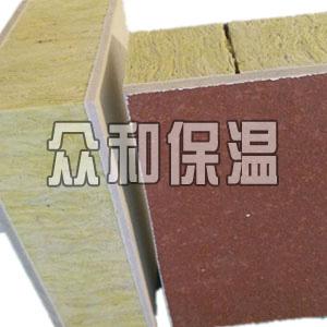复合岩棉一体板