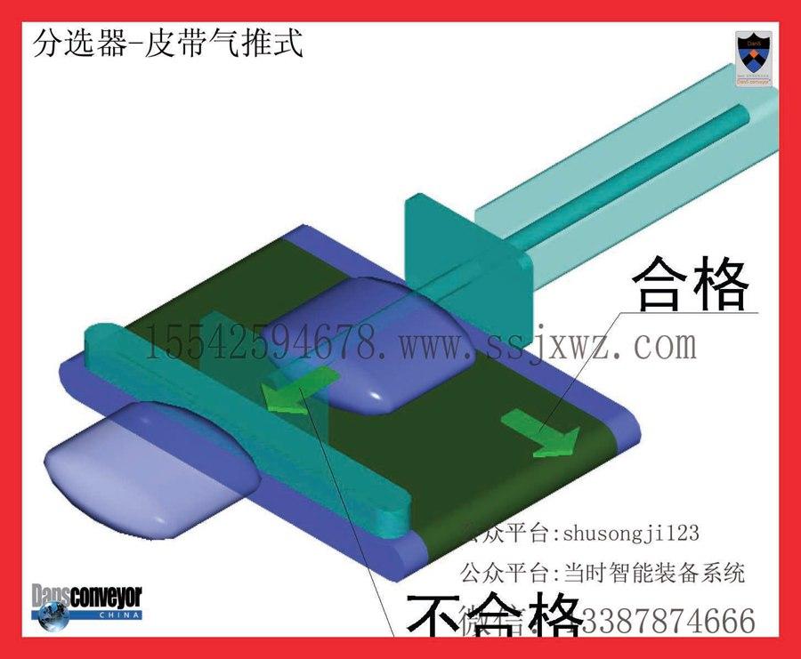 分选器-皮带气推式