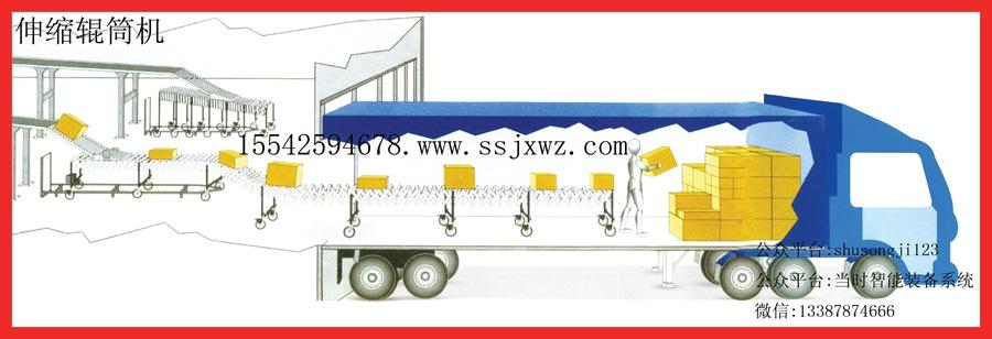 伸缩滚筒输送机供应商