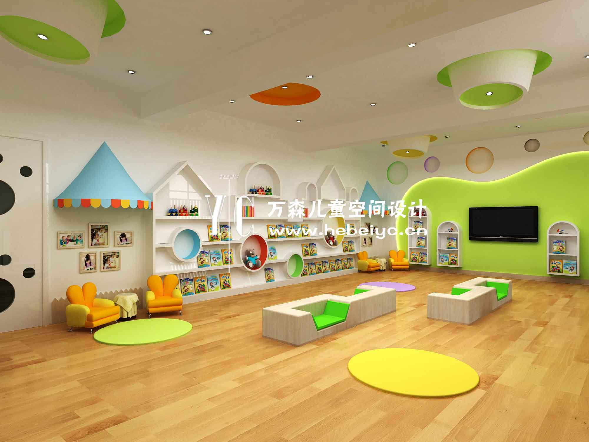 【優選】石家莊幼兒園設計的三方麵 兒童空間設計多種風格選擇