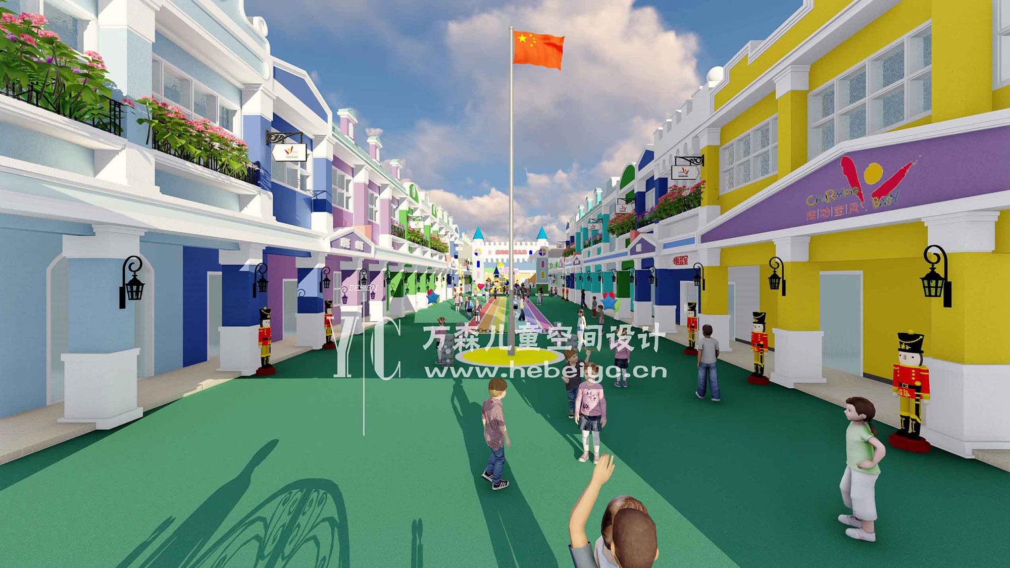 幼儿园外立面改造设计