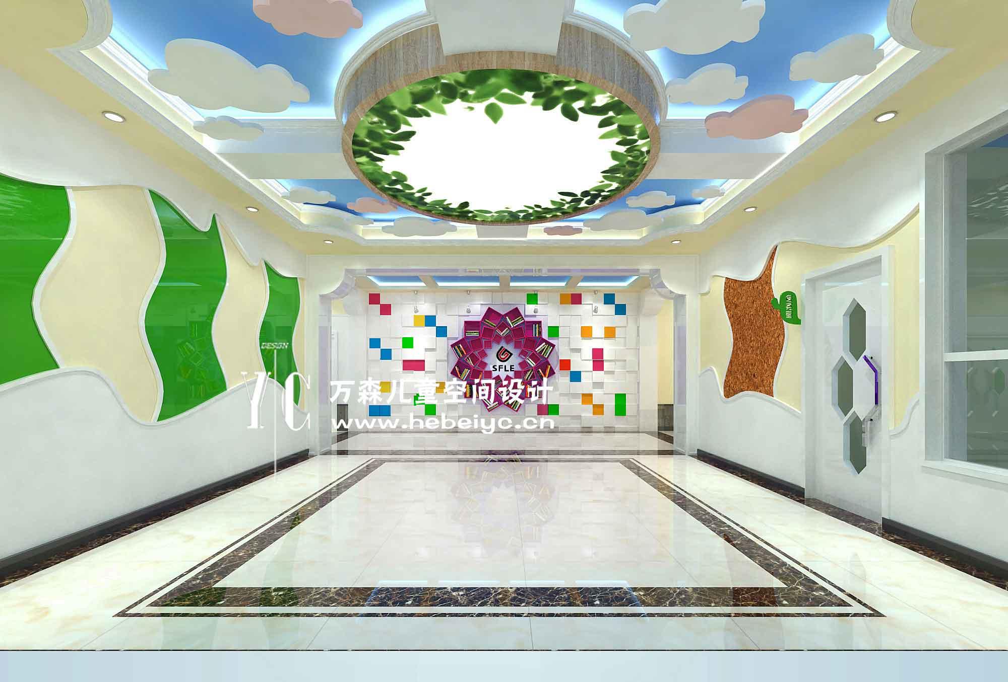 石家庄幼儿园翻新设计