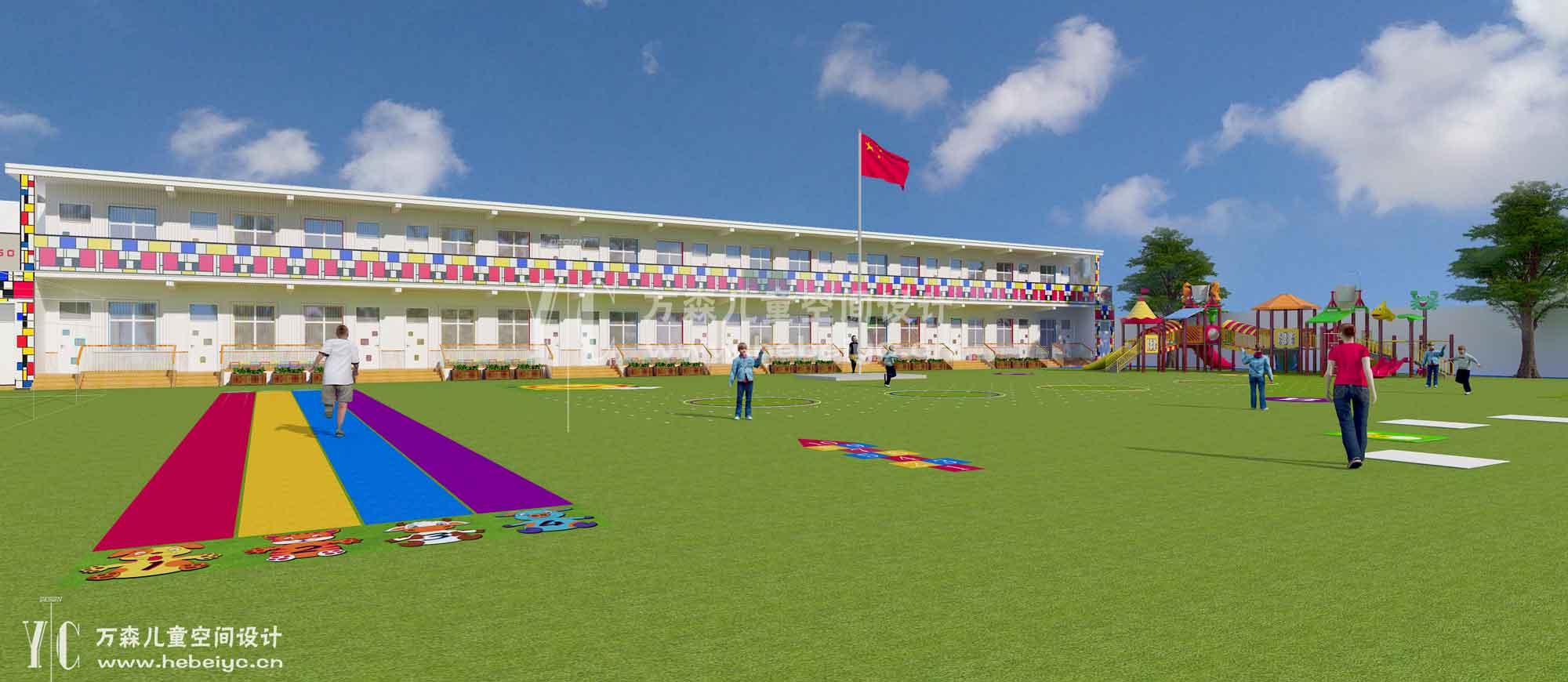河北幼儿园翻新设计
