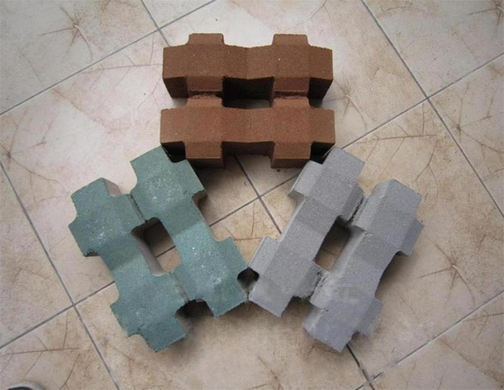 三色井字型植草砖