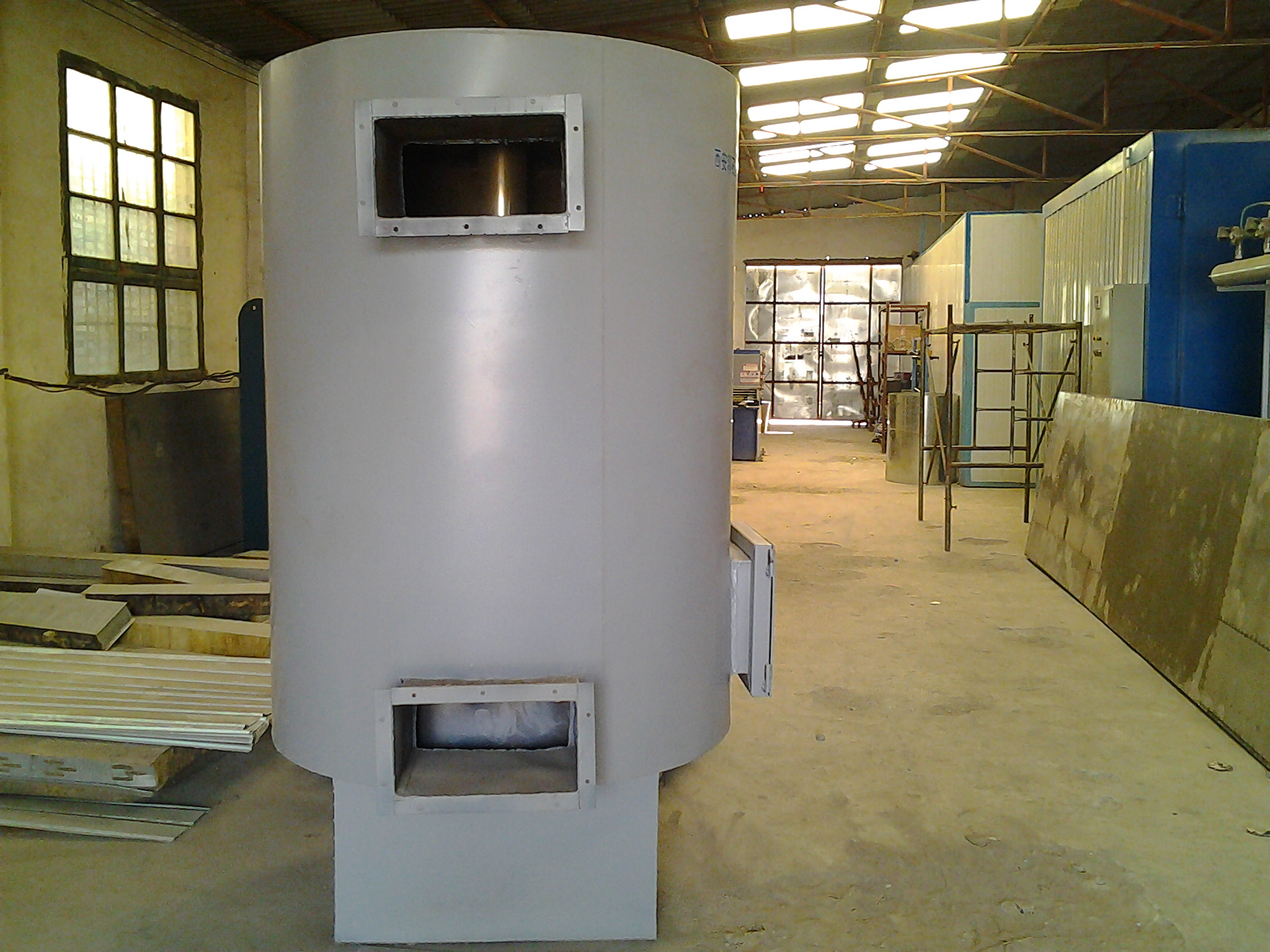 燃煤热风循环炉