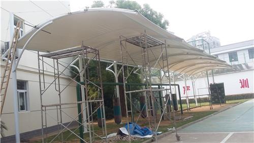 膜布遮陽棚設計制作