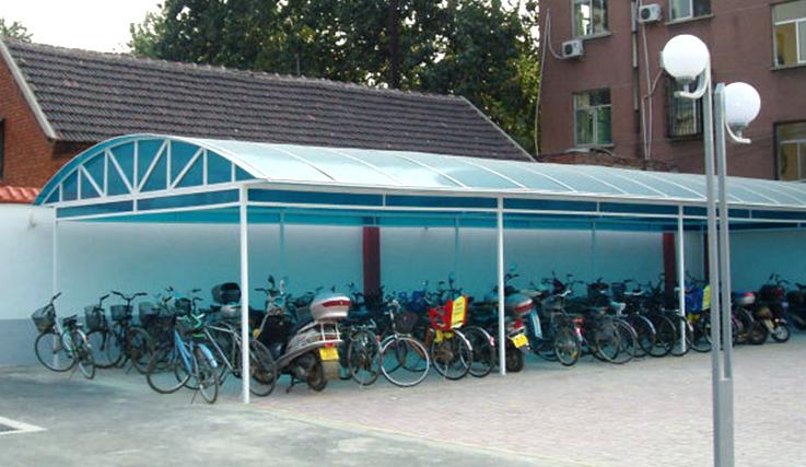 武漢自行車車棚