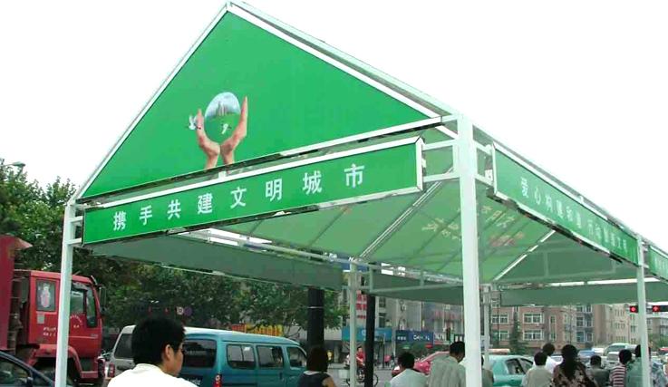 武漢廣告棚制作