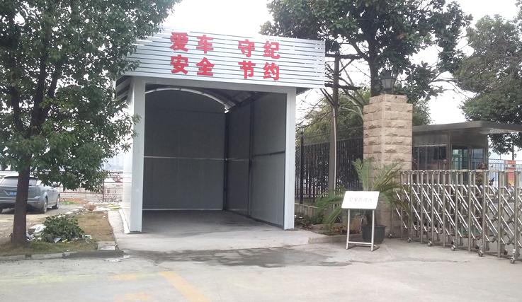 車庫棚工程案例