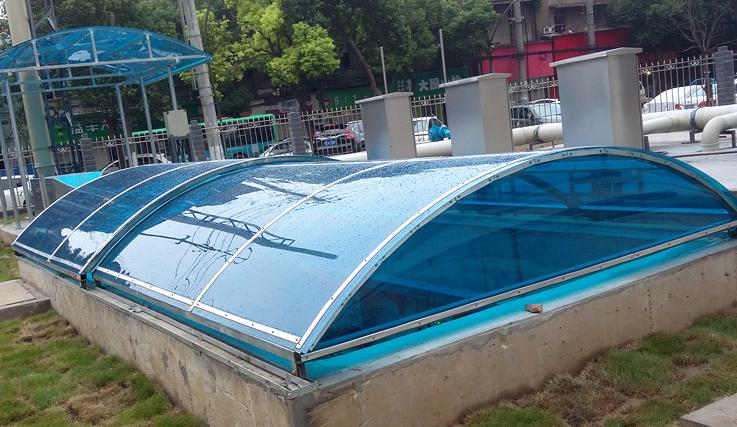设备雨棚制作案例