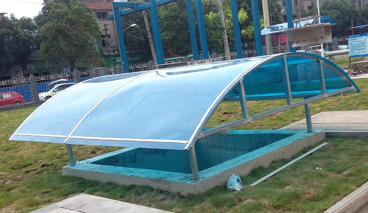 設備雨棚制作案例