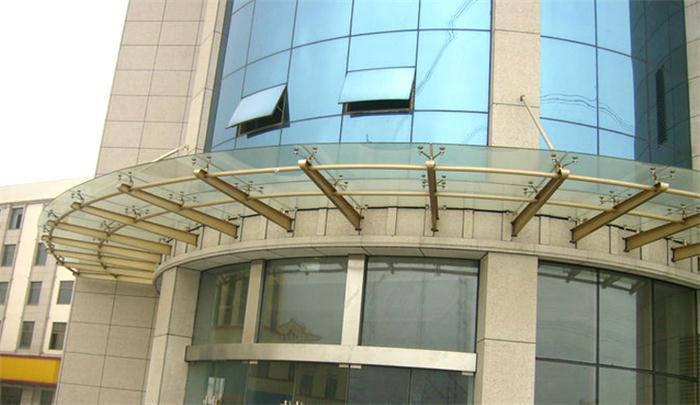 武汉不锈钢结构雨棚