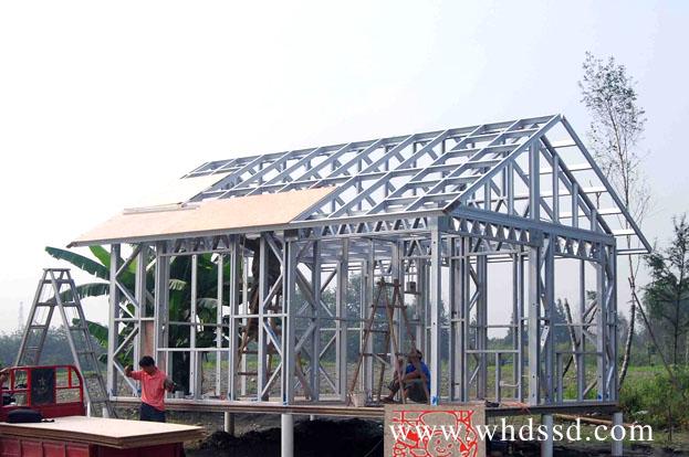 武汉轻钢结构房专业施工团队