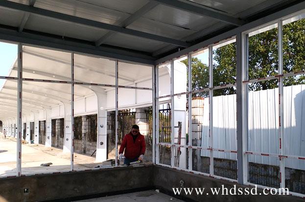 武汉轻钢结构房施工