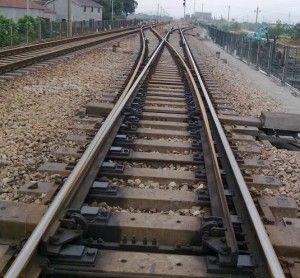 电机车道岔