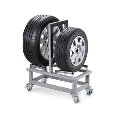 双轮胎移动架