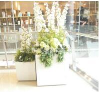 重庆玻璃钢美陈装饰花盆
