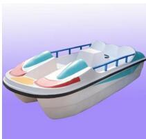重庆玻璃钢四人脚踏船