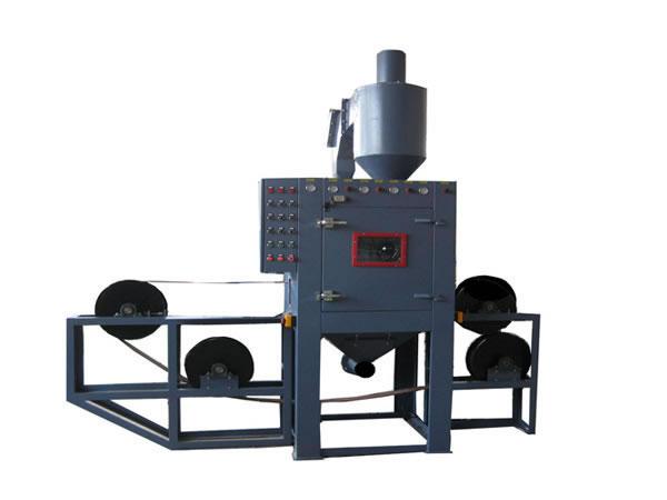 气门芯自动喷砂机