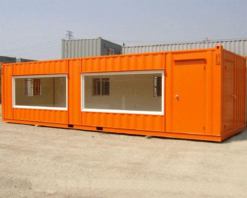 彩色集裝箱活動房