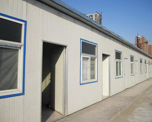 【知识】工地石家庄彩钢活动房使用要求 彩钢活动房优势特点