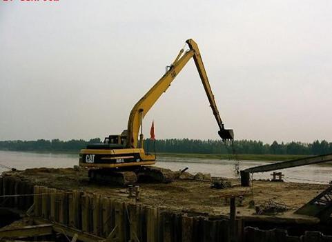 湖北加长臂挖掘机出租