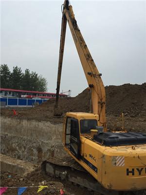 荆州加长臂挖掘机出租