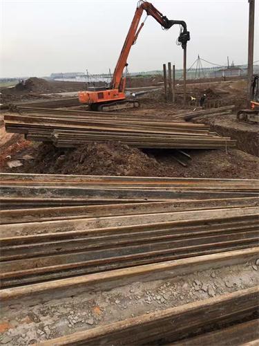 拉森钢板桩施工价格