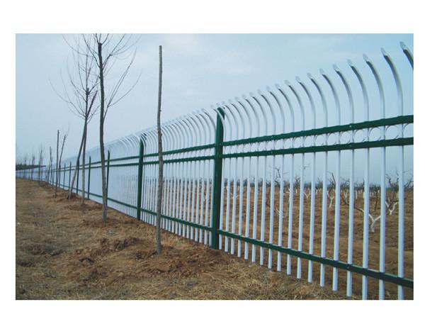 单弯头三横杆护栏
