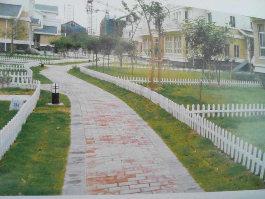 绿化带pvc护栏