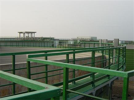 污水处理厂玻璃钢护栏