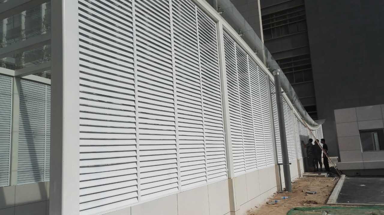 空调锌钢百叶窗厂家