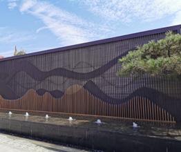 不鏽鋼景牆