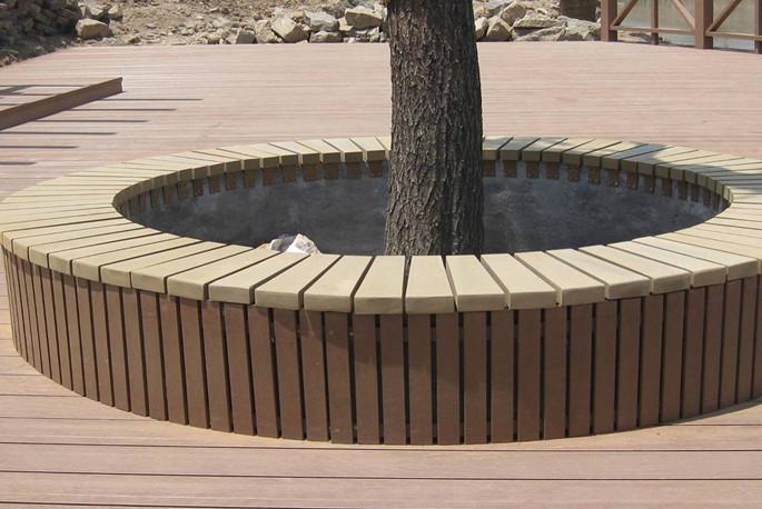 塑木相关产品之树围、花箱