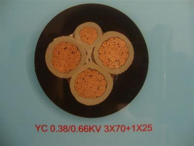 YC橡套电缆厂家