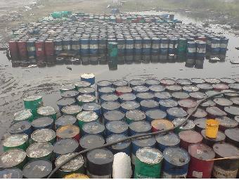 东西湖废柴油回收