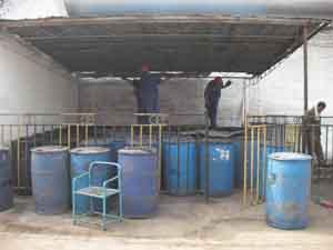 江汉废煤油回收