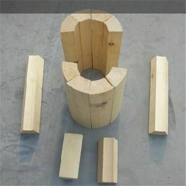 红松木管托空调木托