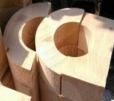 管道空调木托