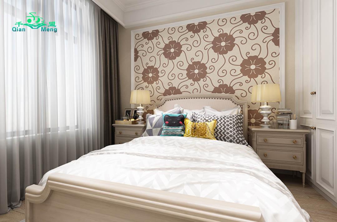 美式风格、卧室、美式-154
