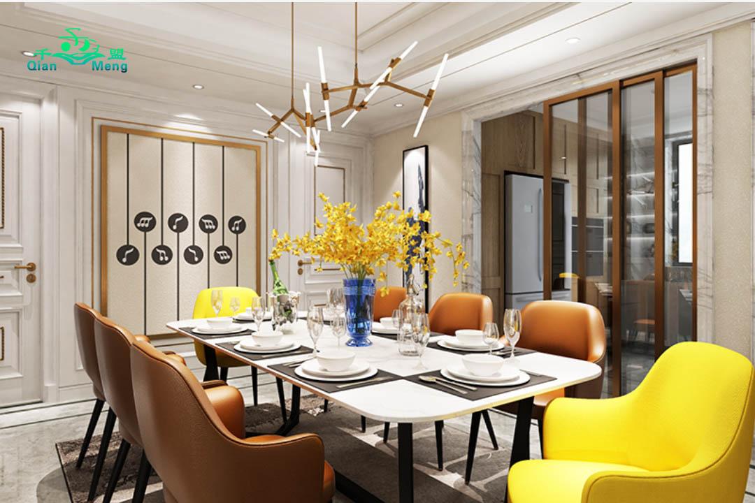 美式风格、餐厅、美式-156