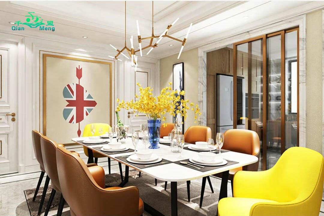 美式风格、餐厅、美式-144
