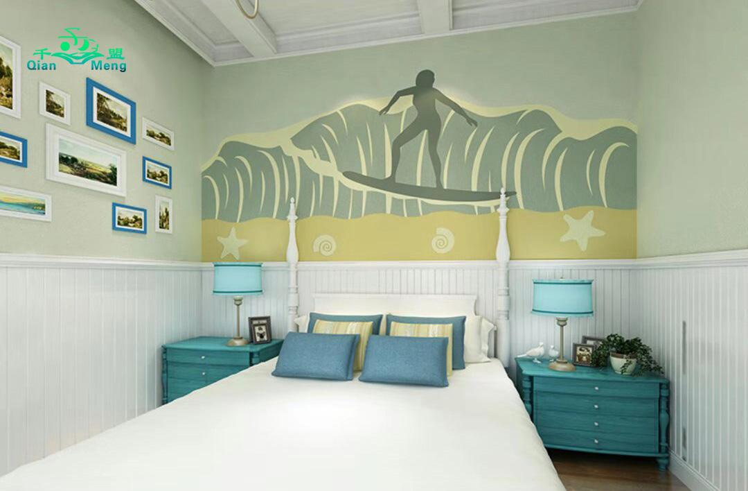 地中海风格、卧室、地中海-118