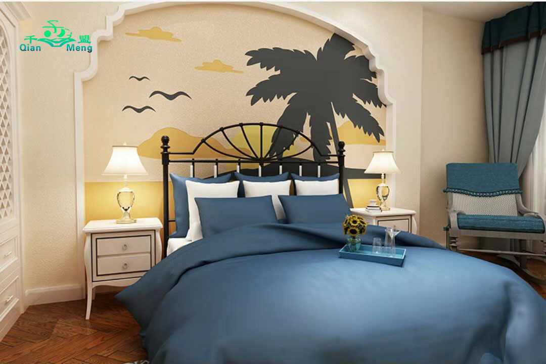 地中海风格、卧室、地中海-124