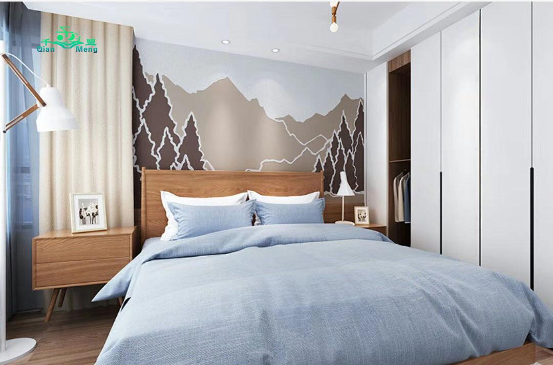 北欧风格、卧室、北欧-151