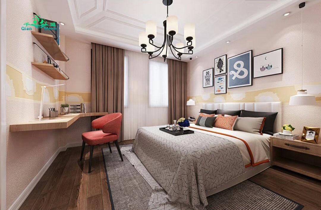 北欧风格、卧室、北欧-160