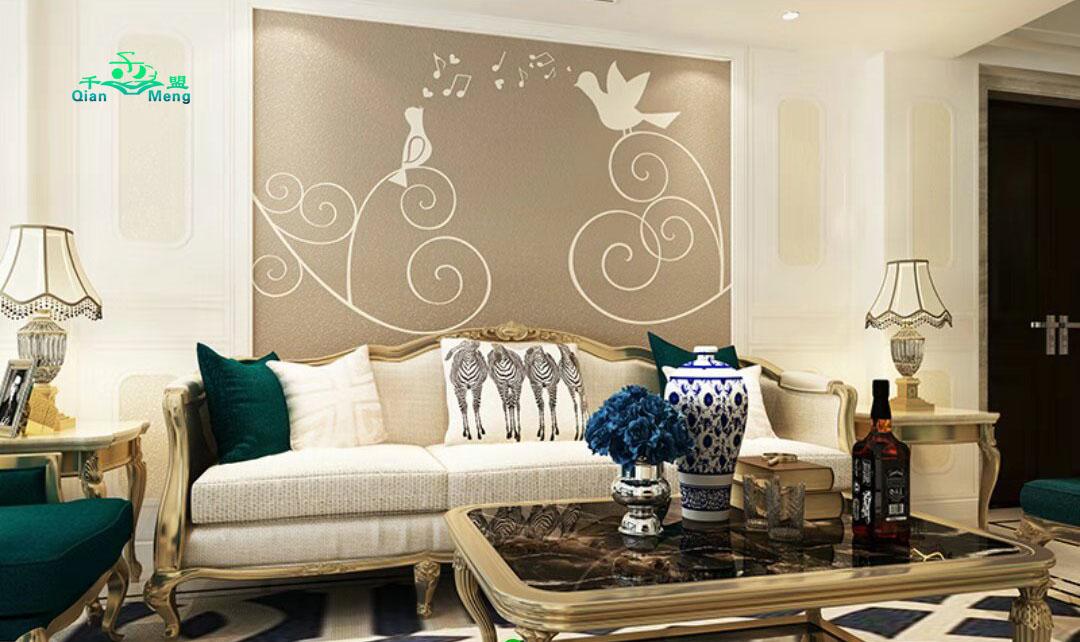 欧式风格、客厅、欧式-154