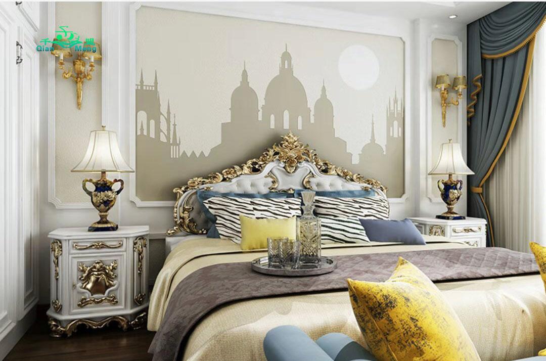 欧式风格、卧室、欧式-147